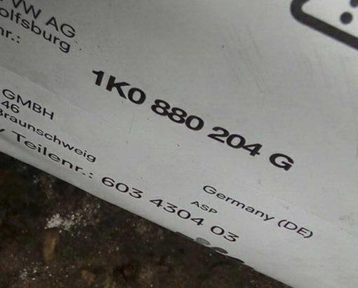 Подушка безопасности Фольксваген Гольф 5 в торпедо 1K0880204G - купить в Минске