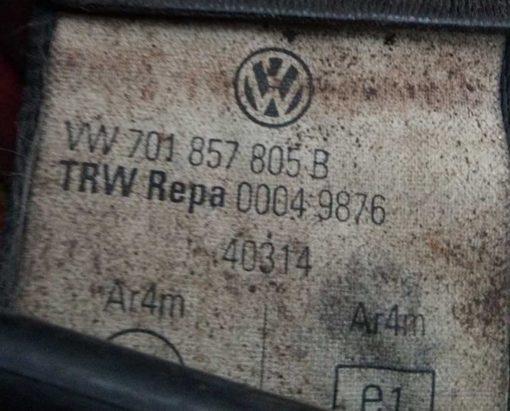 Ремень безопасности Фольксваген Т4 передний левый - правый 701857805B