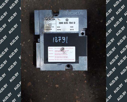 Блок управления телефоном Volkswagen Phaeton 3D0035704D - купить в Минске