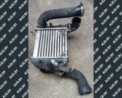 Радиатор интеркуллера Audi A4 B6 - B7 левый 8E0145805AD - купить в Минске