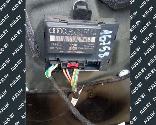 Блок управления Audi A6 C6 дверью задней левой 4F0959795E - купить в Минске