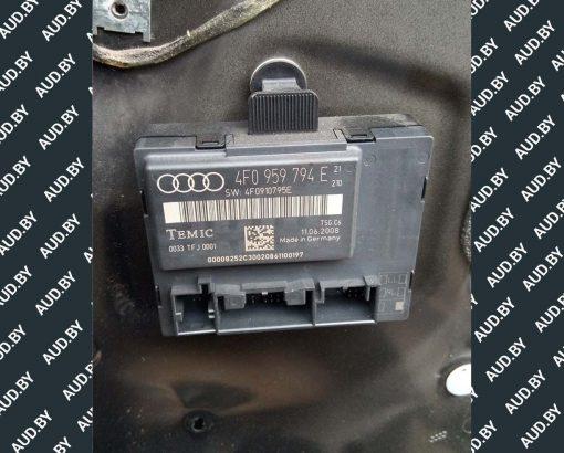 Блок управления дверью Audi A6 C6 задней правой 4F0959794E - купить в Минске