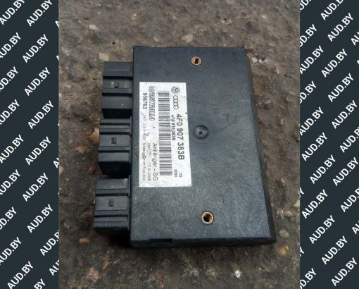 Блок управления прицепом Audi A6 C6 4F0907383B - купить в Минске