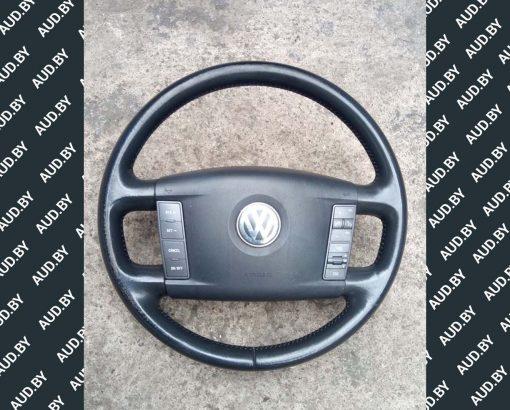 Руль Volkswagen Phaeton 3D0419091K - купить на разборке в Минске