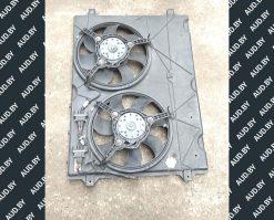 Диффузор + вентилятор радиатора Volkswagen Sharan 7M0121207C - купить в Минске