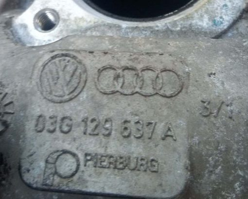 Клапан EGR 03G129637A - купить на разборке в Минске