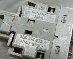 Кнопка корректора фар Volkswagen Passat B5 3B0941333A - купить в Минске