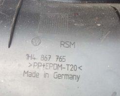 Накладка на порог Volkswagen Golf 3 задняя левая 1H4867765 - купить в Минске
