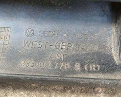 Направляющая шторки багажника Volkswagen Passat B3 универсал правая 333867776B - купить в Минске
