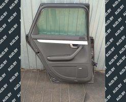 Обшивка двери Audi A4 B7 задняя левая купить на разборке в Минске
