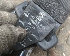 Ремень безопасности Volkswagen T5 передний левый рестайлинг 7E0857805