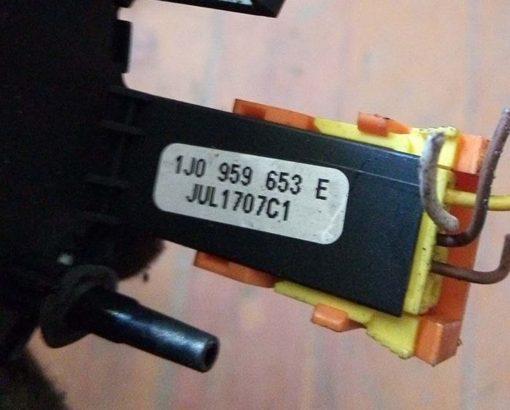 Шлейф руля 1J0959653E - купить на разборке в Минске