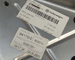 Стеклоподъемник Volkswagen Phaeton передний левый 3D4837755S - купить в Минске