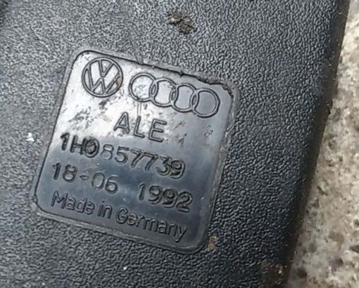 Замок ремня безопасности Volkswagen Golf 3 задний двойной 1H0857739 - купить в Минске